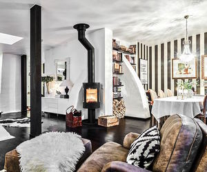decor, design, and fireplace image