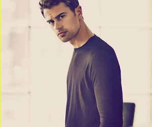 theo james and boy image