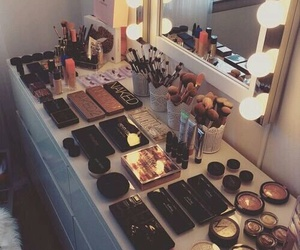 glamor, goals, and makeup image