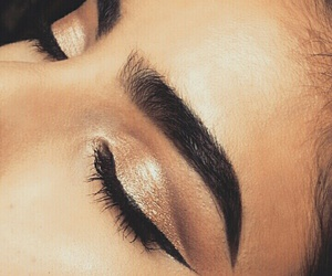 beauty, eyebrows, and perfect image