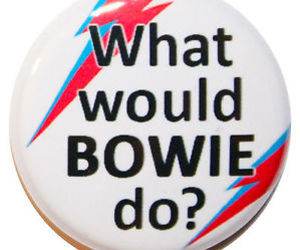 bowie, button, and color image