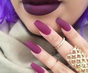 accessories, lips, and lipstick image