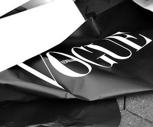 vogue, fashion, and black image