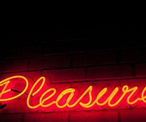 light, neon, and pleasure image