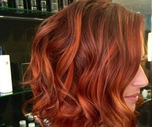 red hair and hair colors image