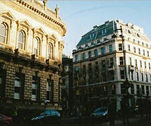 city, building, and vintage image