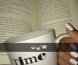 book, geek, and h image