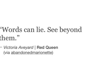 frases, red queen, and reina roja image
