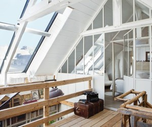 house, loft, and want image