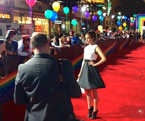 actress, balloons, and california image