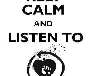 keep calm and rise against image