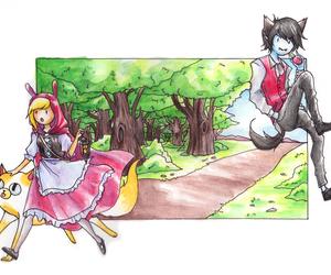 cartoon, vampire, and adventure time image