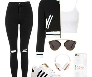 Polyvore, ootd, and casual image
