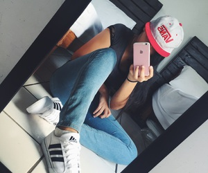 adidas, superstar, and iphone 6s image