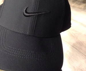 nike, black, and cap image