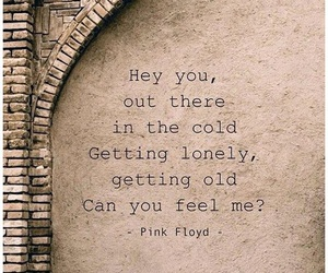 Pink Floyd, quotes, and hey you image