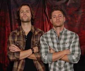 supernatural, Jensen Ackles, and jared padalecki image