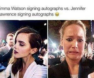 emma watson, Jennifer Lawrence, and emma image