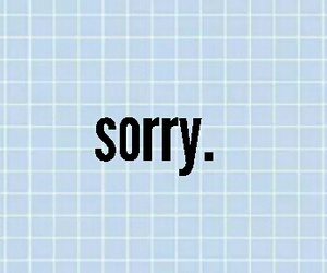 blue, frases, and sorry image