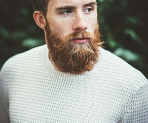 beard, cool, and men image