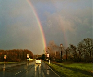 beautiful, color, and rainbow image