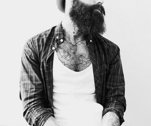 beard, men, and cool image