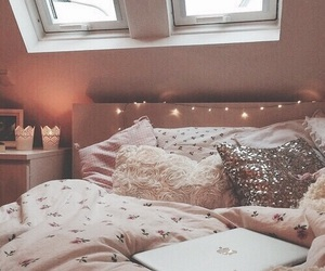 beautiful, bed, and inspiration image