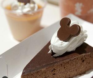 cake, chocolate, and disney image