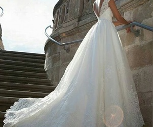 wedding, dress, and style image