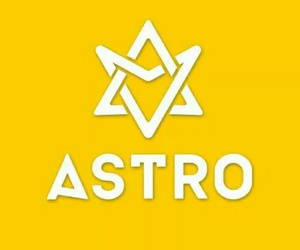 astro, kpop, and Logo image