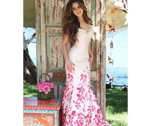 dress, gorgeous, and pink image