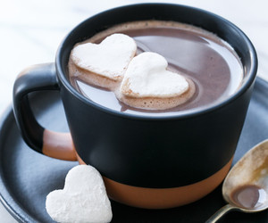 coffee, heart, and food image