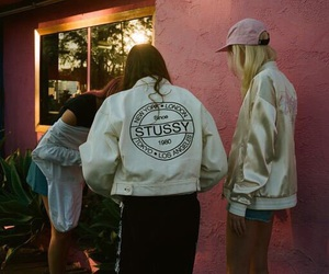 girl and stussy image