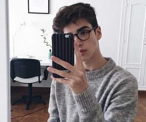 boy, manu rios, and glasses image