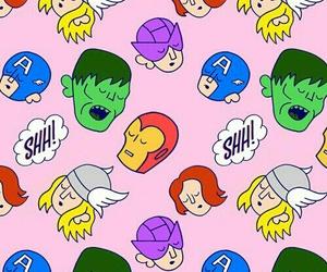 wallpaper, Avengers, and Marvel image