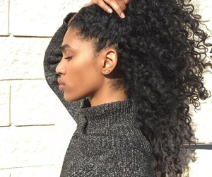 beautiful, curly, and hair image