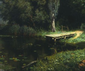 nature, art, and painting image