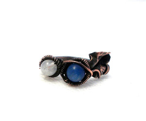 hungarianteam, sky blue, and fashion ring image