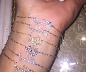 allah, islam, and jewellery image
