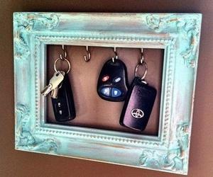diy, key, and frame image