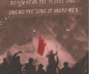 les miserables, song, and quote image