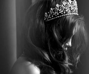 girl, crown, and princess image