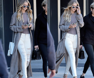 gigi hadid and outfit image