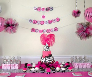 decorations, girls, and party image
