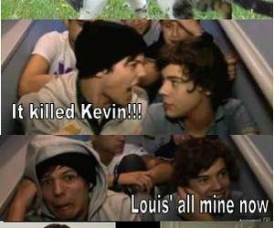 one direction, kevin, and Harry Styles image