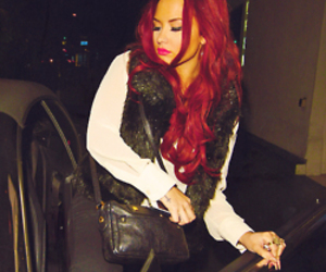 beautiful, demi lovato, and red hair image