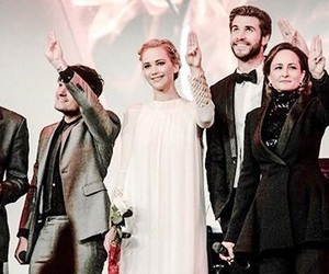 fans, the hunger games, and liam hemsworth image