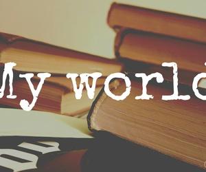 books, My World, and nice image