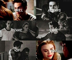 lydia martin and stiles stilinski image