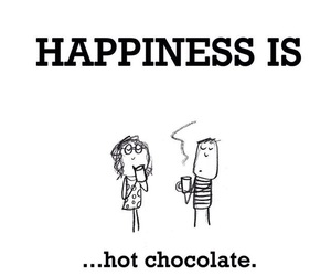 happy time and hot ​chocolate image